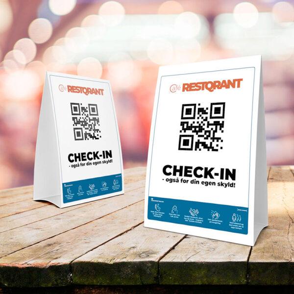 RestQR bordskilte - digital registrering