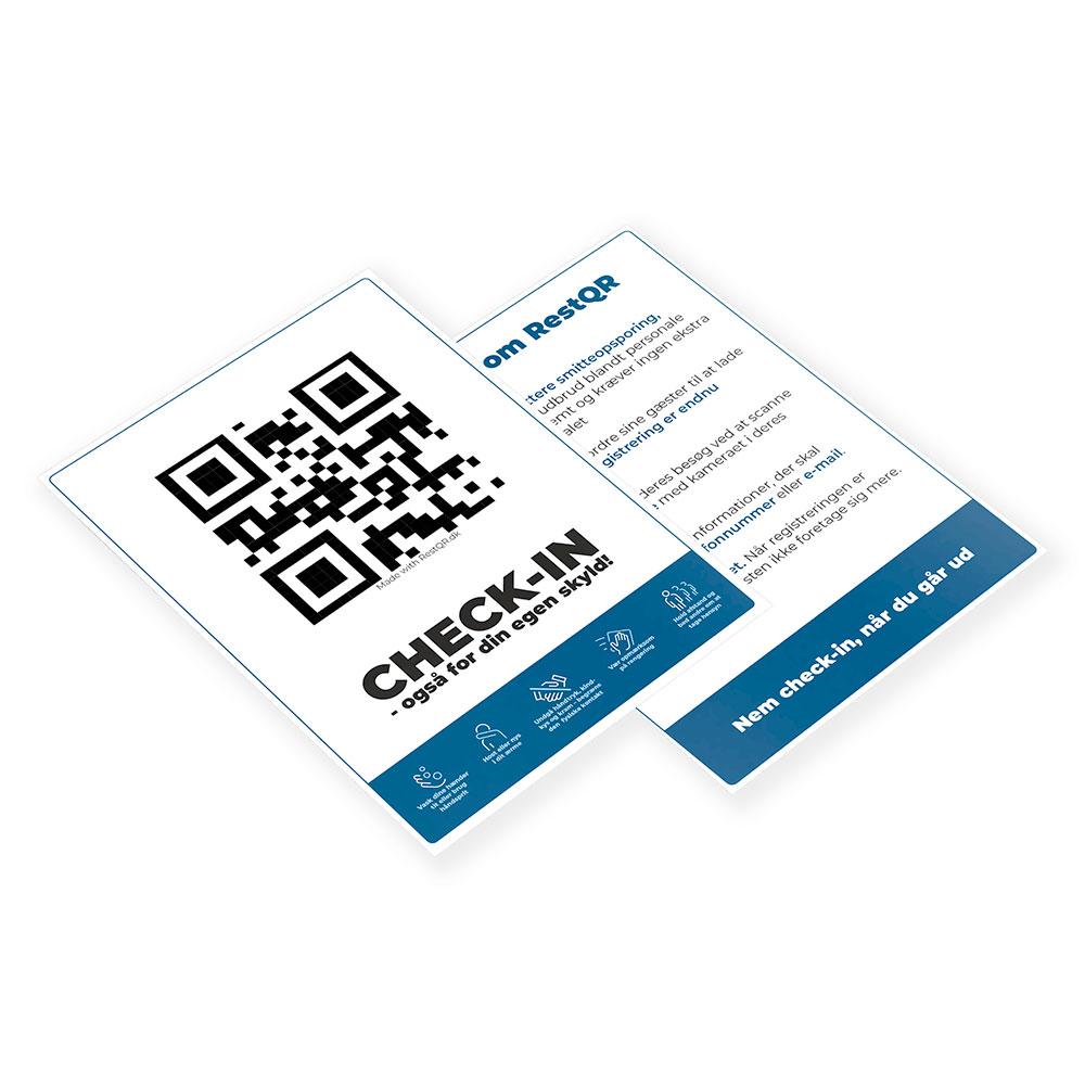 Check-in for din egen skyld - folder | RestQR