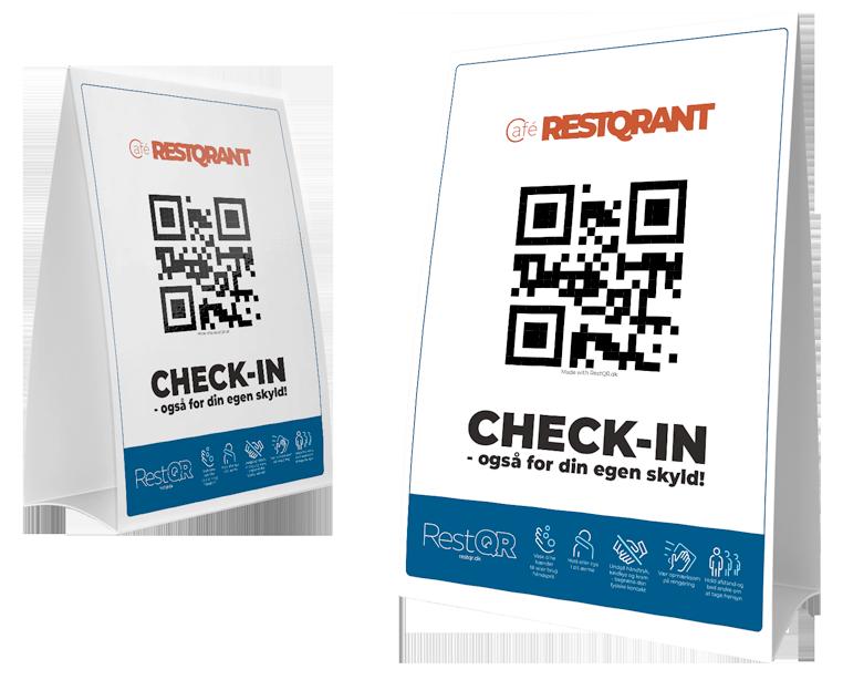Check-in elektronisk registering med RestQR